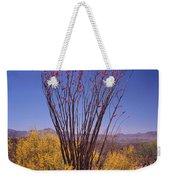 Ocotillo And Palo Verde Weekender Tote Bag