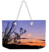Ocotillo Sunset Weekender Tote Bag
