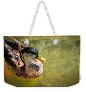 October Duck Weekender Tote Bag by Marty Koch