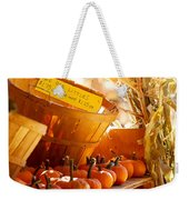 October Market Weekender Tote Bag