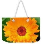 October's Summer Sunlit Marigold  Weekender Tote Bag