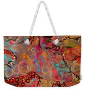 Octopus Illistration Weekender Tote Bag