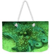 Octopus In The Sand Weekender Tote Bag