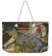 Odalisque Weekender Tote Bag by Pierre Auguste Renoir