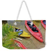 Odd Boat Out Weekender Tote Bag