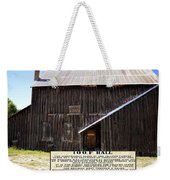 Odd Fellows Historical Building Weekender Tote Bag