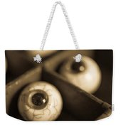 Oddities Fake Eyeballs Weekender Tote Bag by Edward Fielding