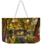 Ode To Autumn Weekender Tote Bag