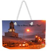 Ode To Harry Chapins Taxi Weekender Tote Bag