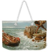Odysseus And Polyphemus Weekender Tote Bag