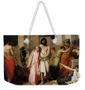 Oedipus And Antigone Or The Plague Of Thebes  Weekender Tote Bag