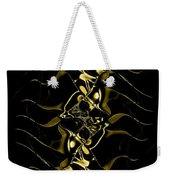 Of Golden Waves Weekender Tote Bag