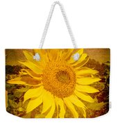 Of Sunflowers Past Weekender Tote Bag