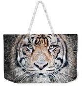 Of Tigers And Stone Weekender Tote Bag