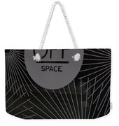 Off Space Weekender Tote Bag
