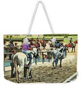 Off To The Race Weekender Tote Bag