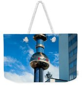 Office Building And Waste-to-energy Plant Vienna Weekender Tote Bag by Stephan Pietzko