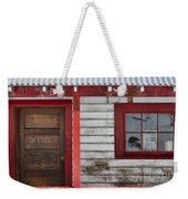 Office Door Weekender Tote Bag