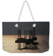 Offshore Drill Rig Platform Weekender Tote Bag