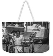 Oh Calcutta Monochrome Weekender Tote Bag