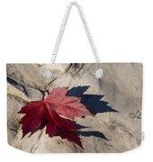 Oh Canada Maple Leaf Weekender Tote Bag