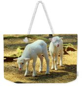 Oh Little Lamb Weekender Tote Bag