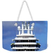 Oh Magnificent Luna Weekender Tote Bag by Karen Wiles