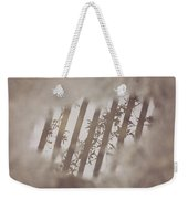 Oh My Gosh A Rain Puddle In California Weekender Tote Bag