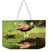 Oh My What A Handsome Pheasant Weekender Tote Bag