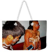 Oh The Irony Weekender Tote Bag