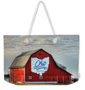 Ohio Bicentennial Barn -van Wert County Weekender Tote Bag