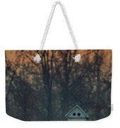 Ohio Bird House At Sunset Weekender Tote Bag