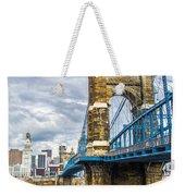 Ohio River Bridge Weekender Tote Bag