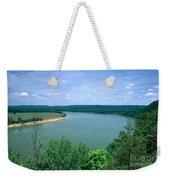 Ohio River Weekender Tote Bag