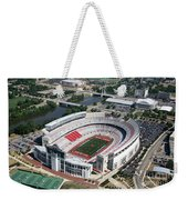 Ohio Stadium Aerial Weekender Tote Bag