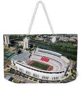 Ohio Stadium Weekender Tote Bag