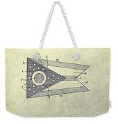 Ohio State Flag Design Weekender Tote Bag