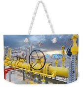 Oil And Gas Weekender Tote Bag