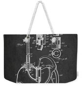Oil Can Patent From 1903 - Dark Weekender Tote Bag