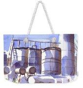 Oil Depot In April Weekender Tote Bag