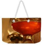Oil Lamp In Red Weekender Tote Bag