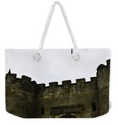 Oil Painting - British Flag Over A Doorway Inside The Stirling Castle Weekender Tote Bag