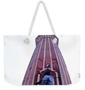 Oil Painting - Minaret Inside Jama Masjid Weekender Tote Bag