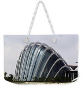 Oil Painting - One Of The Conservatories Of The Gardens By The Bay In Singapore Weekender Tote Bag