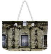 Oil Painting - Renaissance Styled Statues On Royal Palace In Stirling Castle Weekender Tote Bag