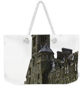 Oil Painting - Repair Of The Benedictine Abbey At Fort Augustus Now Apartments Weekender Tote Bag