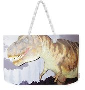 Oil Painting - Thankfully This T Rex Is A Dummy Weekender Tote Bag