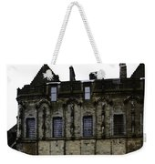 Oil Painting - The Royal Palace Inside Stirling Castle In Scotland Weekender Tote Bag