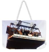 Oil Painting - Bridge As A Part Of Construction Weekender Tote Bag