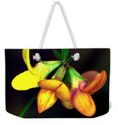 Yellow And Orange Trefoil  Weekender Tote Bag